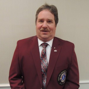 District Governor Randal Clapp