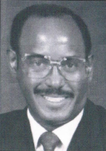 Cabinet Treasurer Emery J. Partee