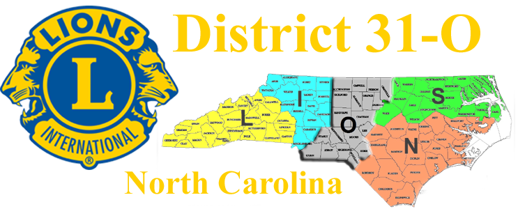 North Carolina Lions District 31-O