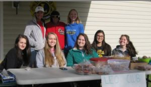 Eastern Guilford Leo Club Bake Sale at yard sale